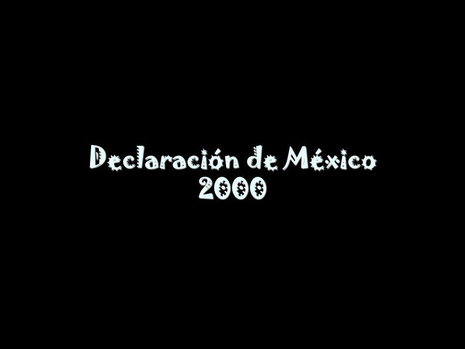 Declaración de México 2000