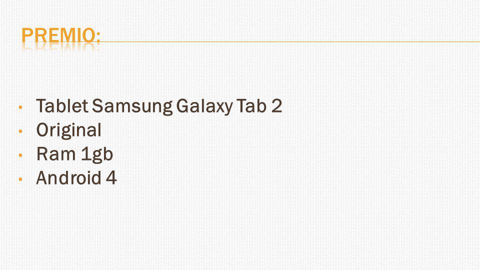 Tablet Samsung Galaxy Tab 2 Original Ram 1gb Android 4