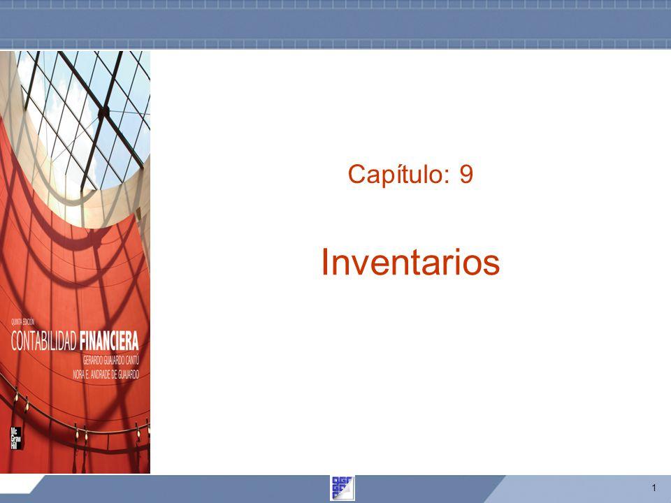 1 Capítulo: 9 Inventarios