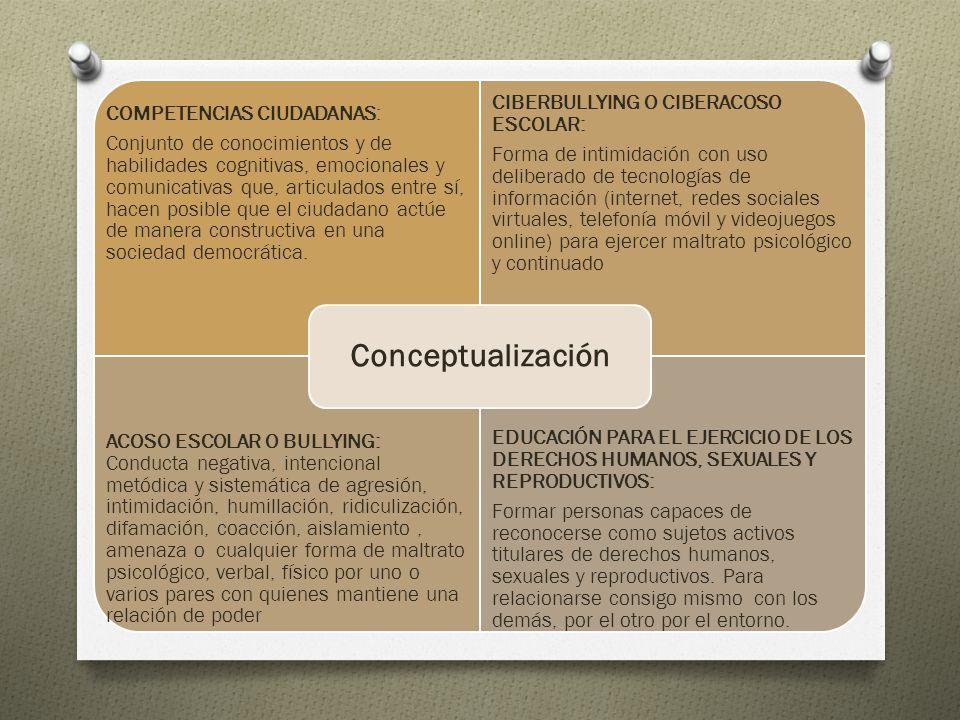 COMPETENCIAS CIUDADANAS: Conjunto de conocimientos y de habilidades cognitivas, emocionales y comunicativas que, articulados entre sí, hacen posible q