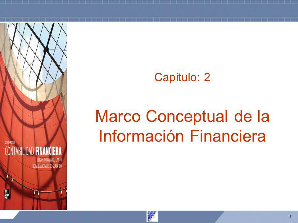 1 Capítulo: 2 Marco Conceptual de la Información Financiera