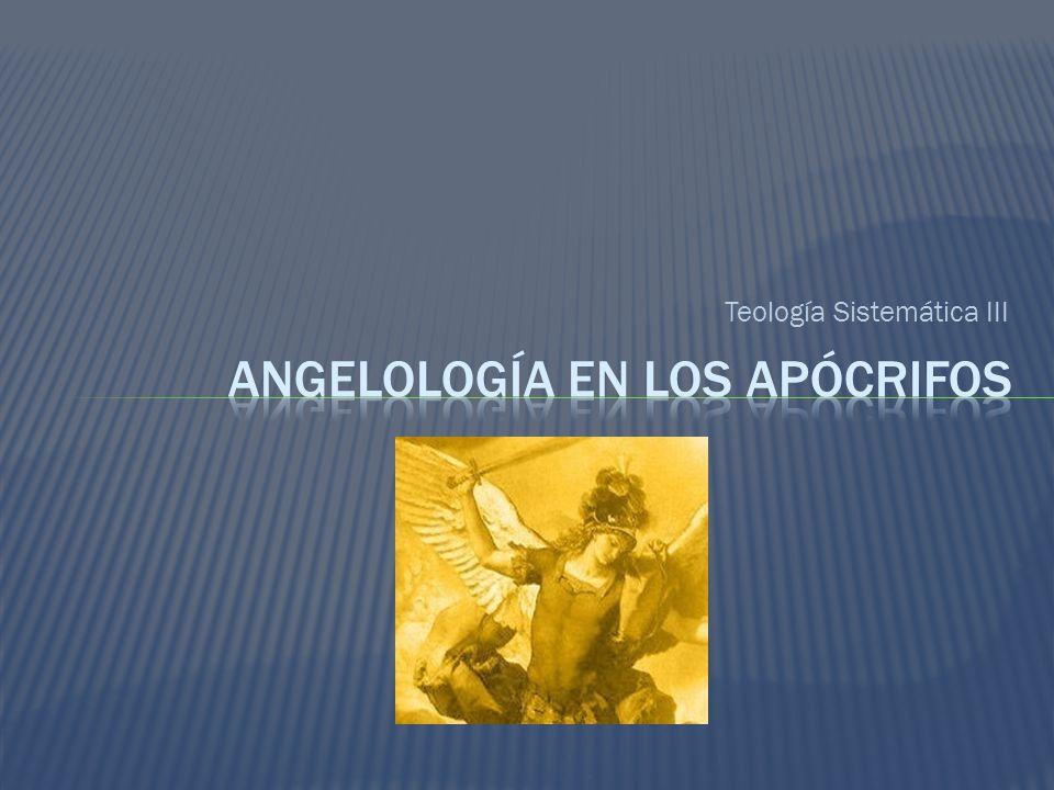 Teología Sistemática III