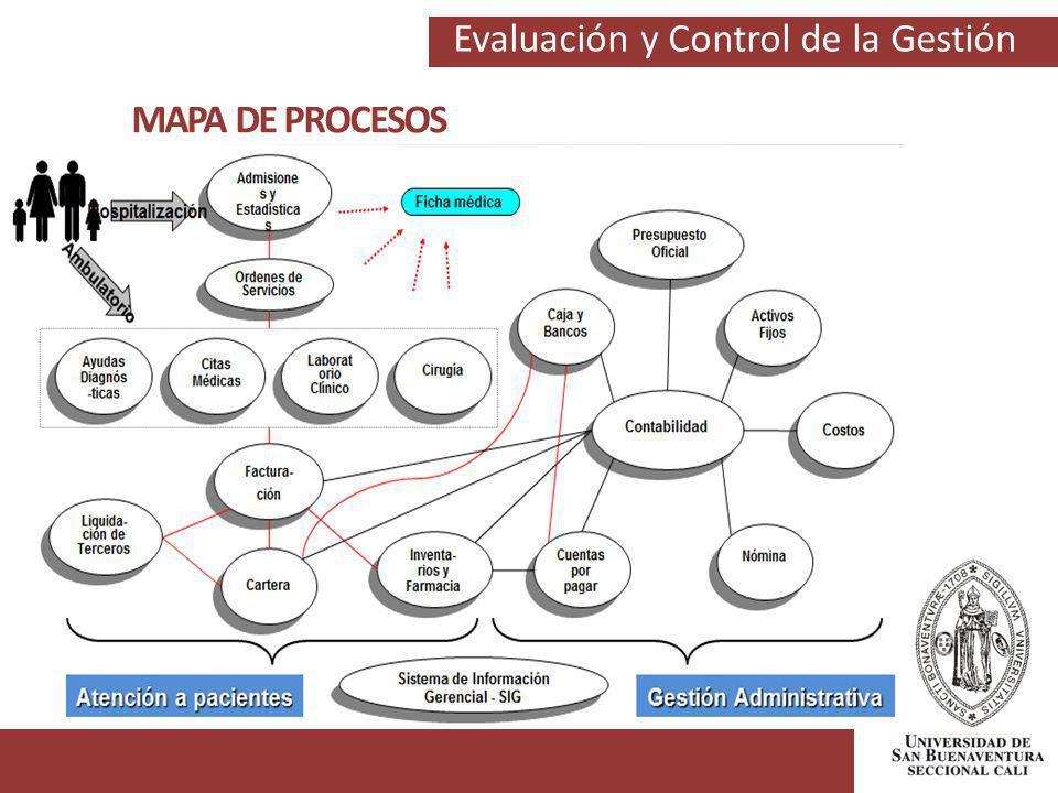 Evaluación y Control de la Gestión MAPA DE PROCESOS