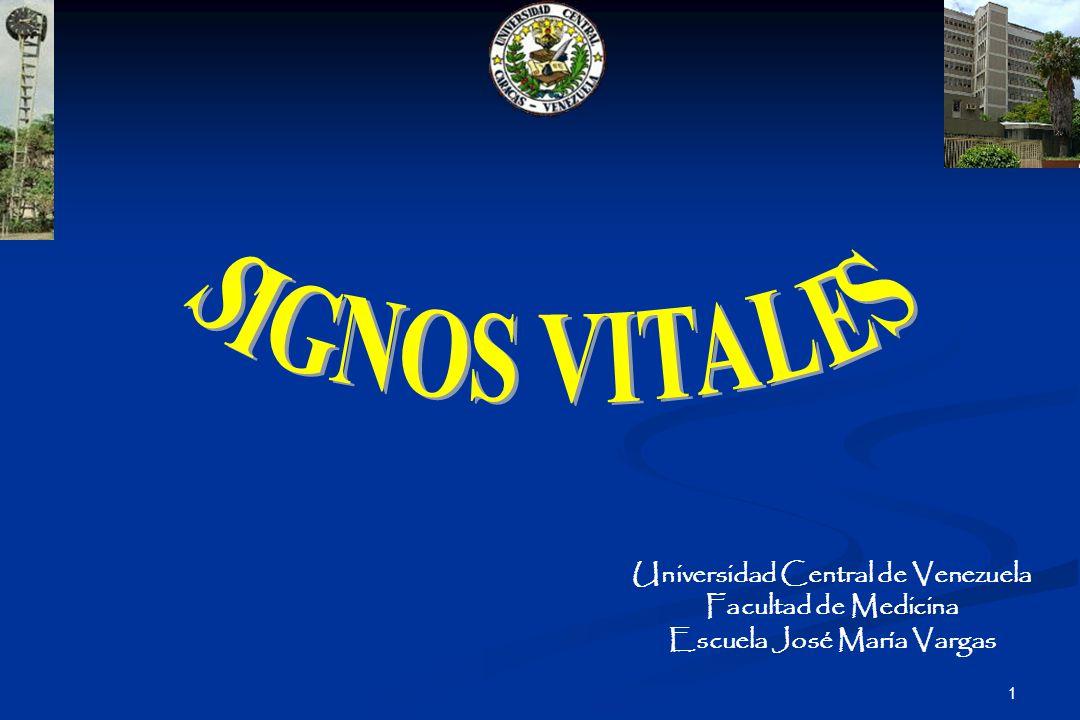 1 Universidad Central de Venezuela Facultad de Medicina Escuela José María Vargas