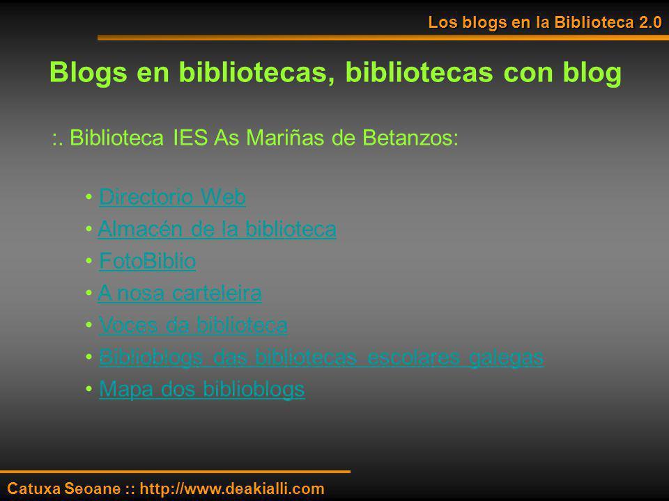 :. Biblioteca IES As Mariñas de Betanzos: Directorio Web Almacén de la biblioteca FotoBiblio A nosa carteleira Voces da biblioteca Biblioblogs das bib