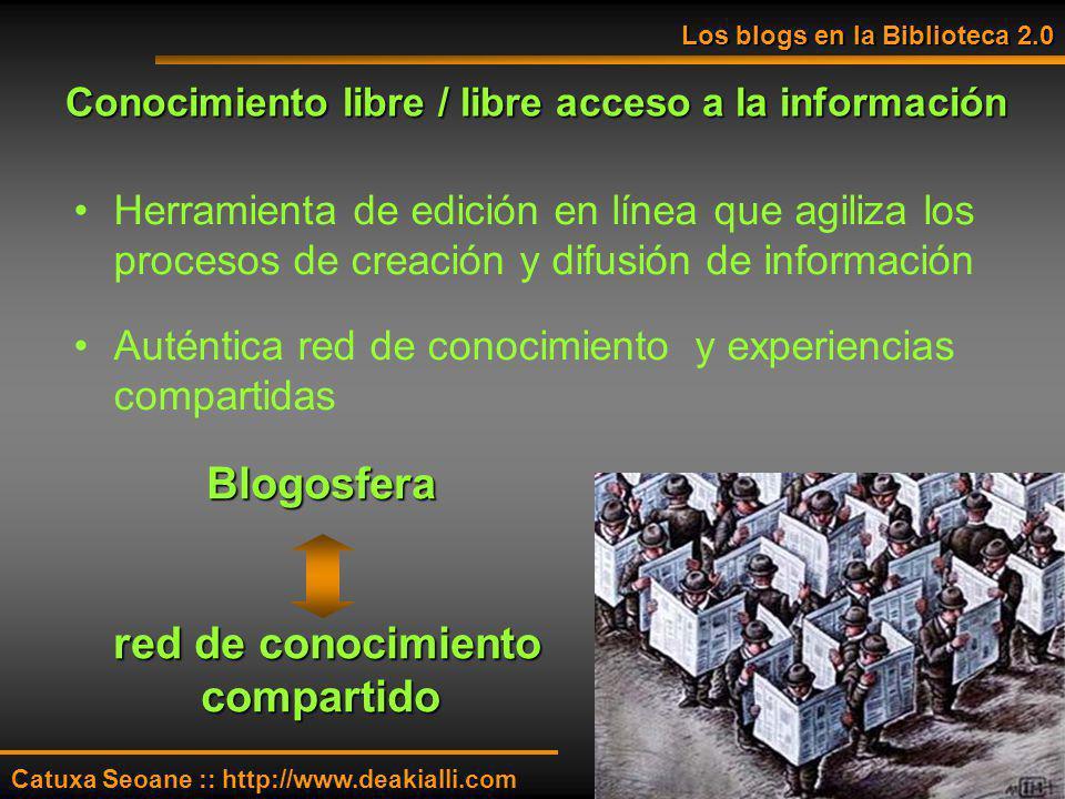 Conocimiento libre / libre acceso a la información Herramienta de edición en línea que agiliza los procesos de creación y difusión de información Auté