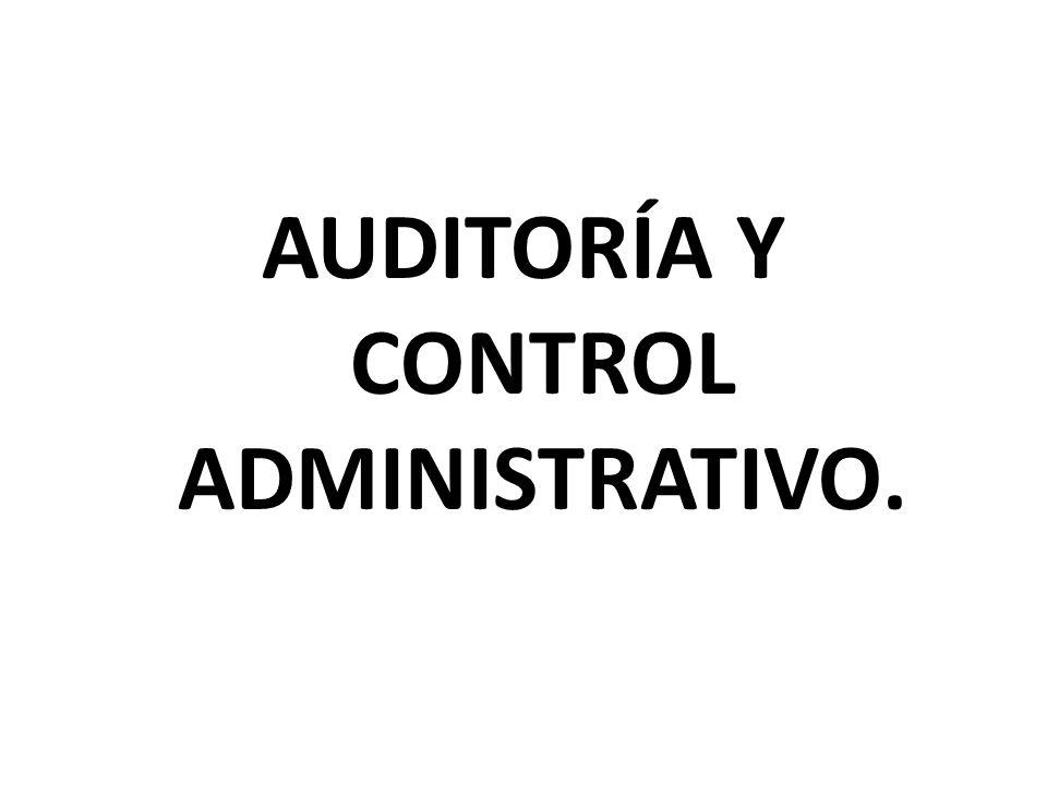 6.Funciones y responsabilidades del control interno.