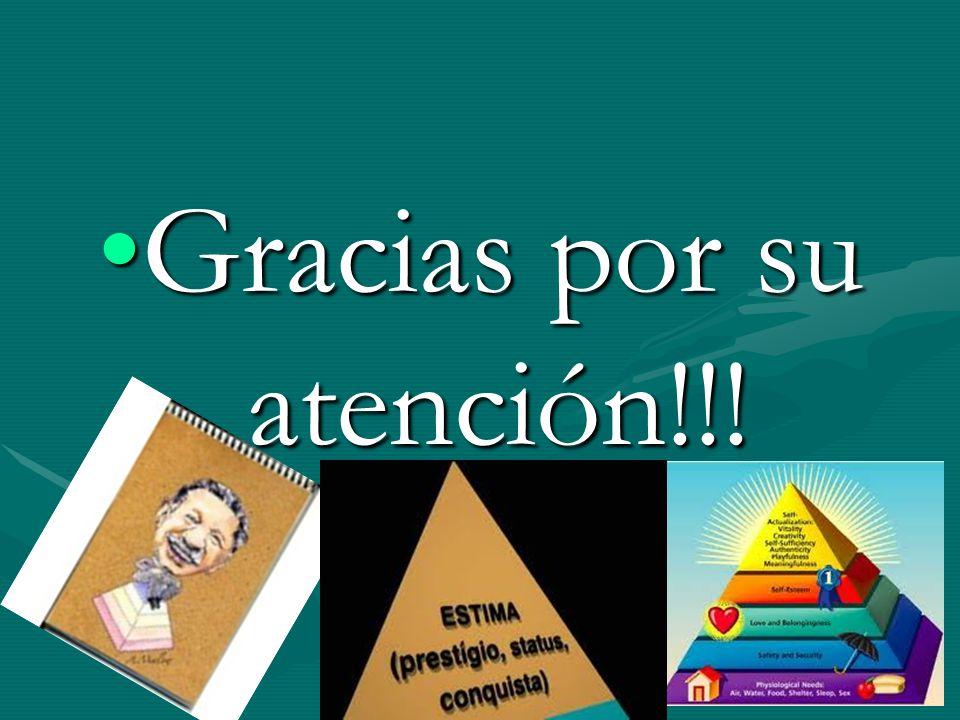 Gracias por su atención!!!Gracias por su atención!!!