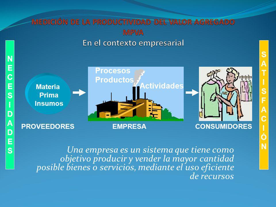 Una empresa es un sistema que tiene como objetivo producir y vender la mayor cantidad posible bienes o servicios, mediante el uso eficiente de recurso