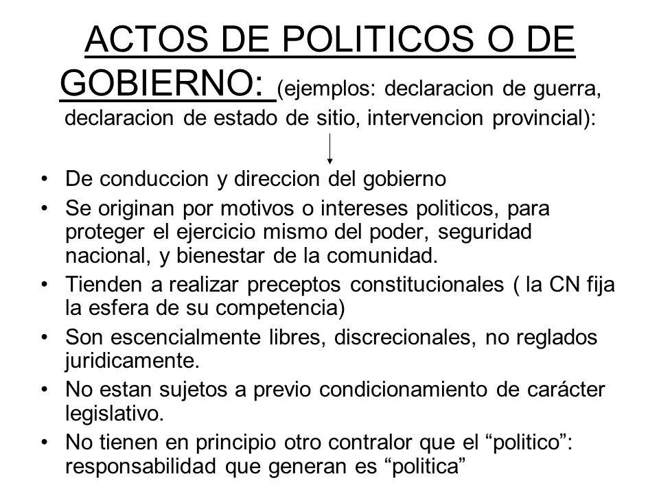 JEFE DE GABINETE Y MINISTROS DEL ORGANO EJECUTIVO (Capitulo IV CN: art.