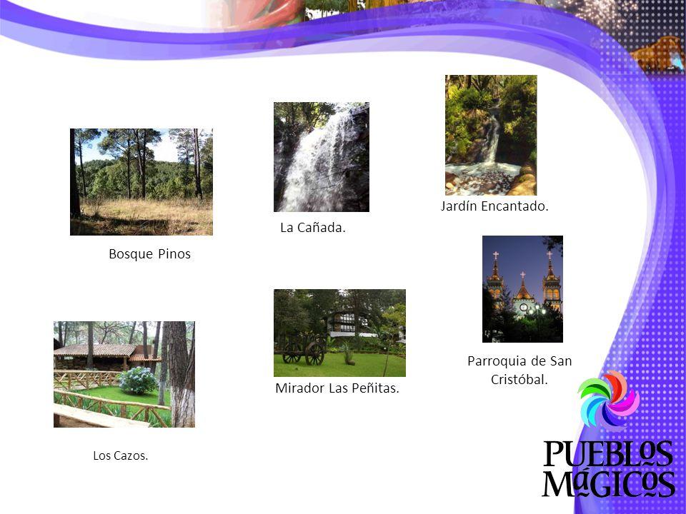 Mirador Las Peñitas.Jardín Encantado. Parroquia de San Cristóbal.