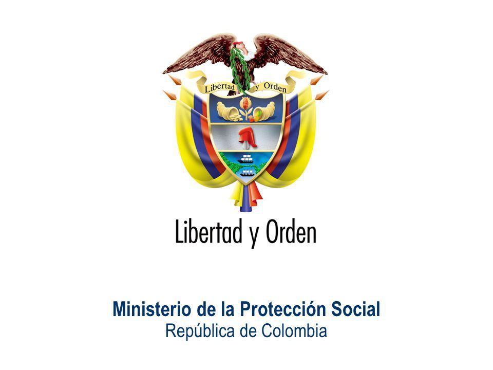 Ministerio de la Protección Social República de Colombia ¿Quiénes tienen riesgo de enfermar en una pandemia.