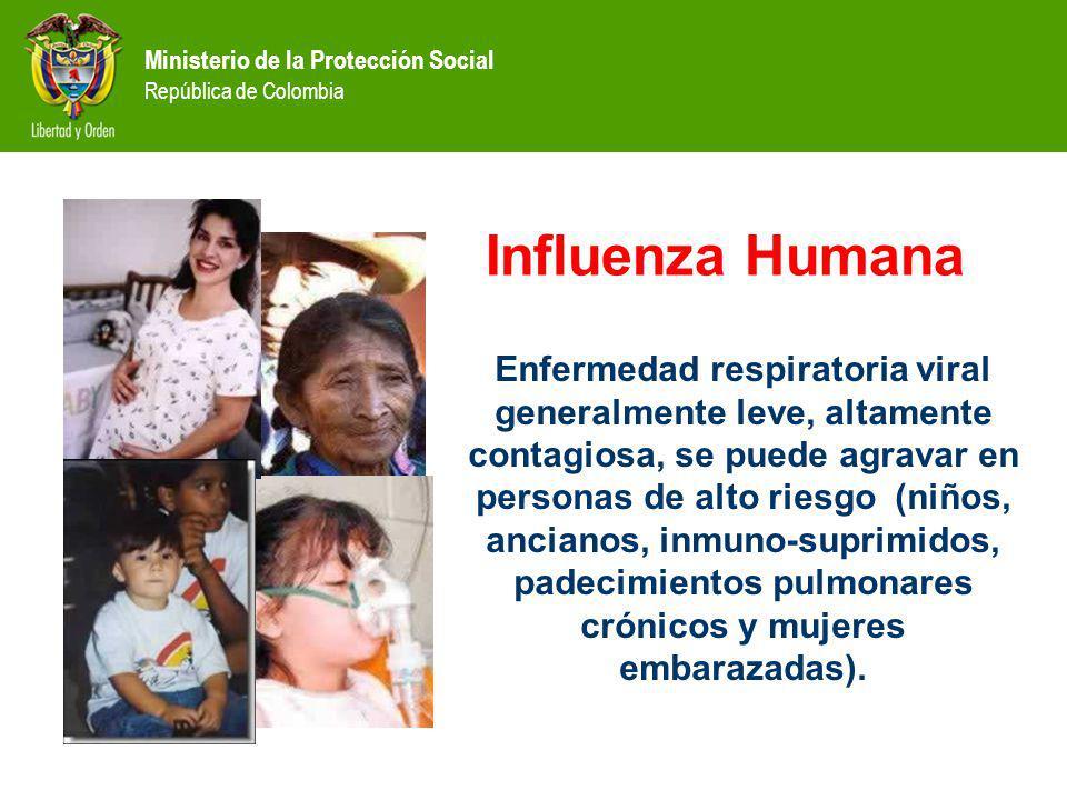 Enfermedad respiratoria viral generalmente leve, altamente contagiosa, se puede agravar en personas de alto riesgo (niños, ancianos, inmuno-suprimidos, padecimientos pulmonares crónicos y mujeres embarazadas).