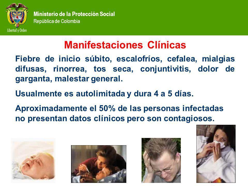 Ministerio de la Protección Social República de Colombia 1.Planificación y control 2.Vigilancia epidemiológica, seguimiento y evaluación.