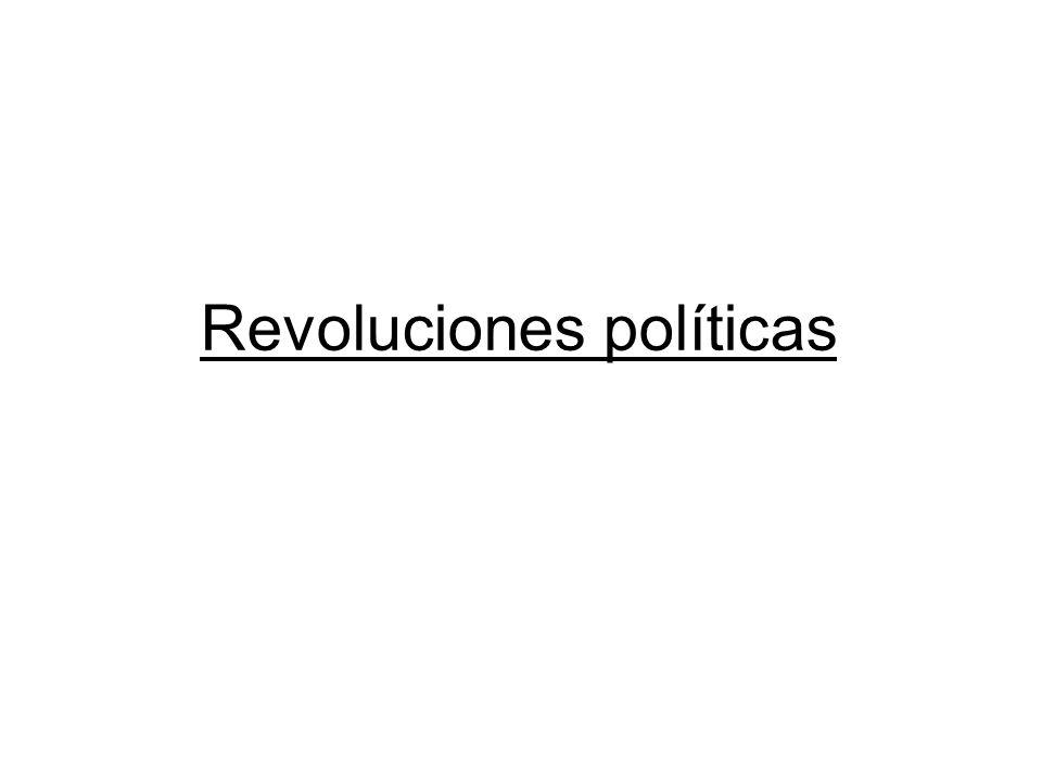 Desde las revoluciones americana (1776) y francesa (1789)......