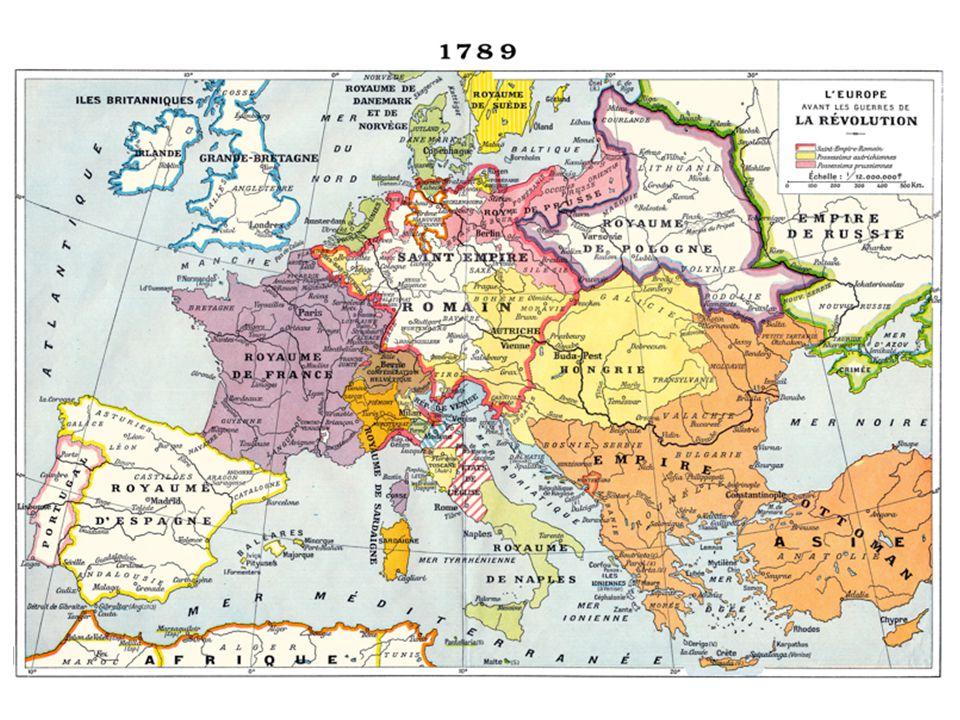 Una revolución importante (Revolución francesa) nos llevará al Imperio de Napoleón (Francia).