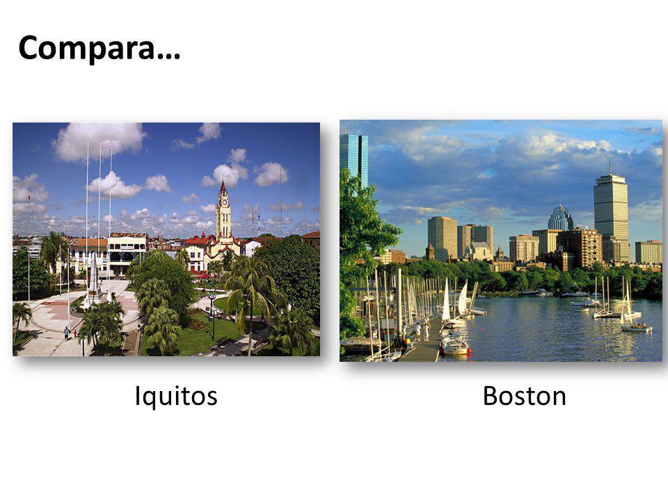 Iquitos Boston Compara…