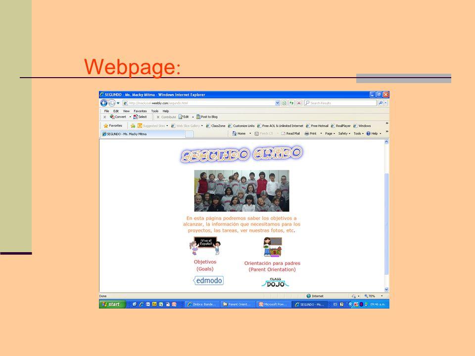 Webpage: