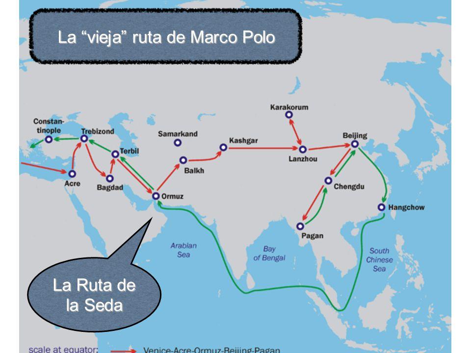 La vieja ruta de Marco Polo La Ruta de la Seda