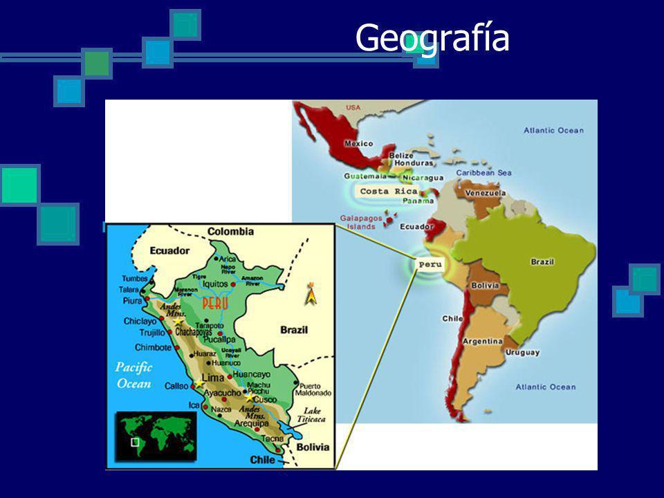 Facts - Hechos Lima – Modern Peru capital Two official languages – hundreds of secondary ones Quzco (Qosqo-ombligo del mundo) – capital of Incan Empire.