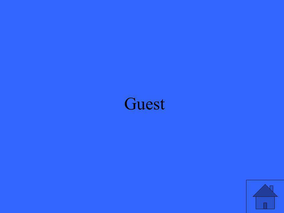 11 Guest