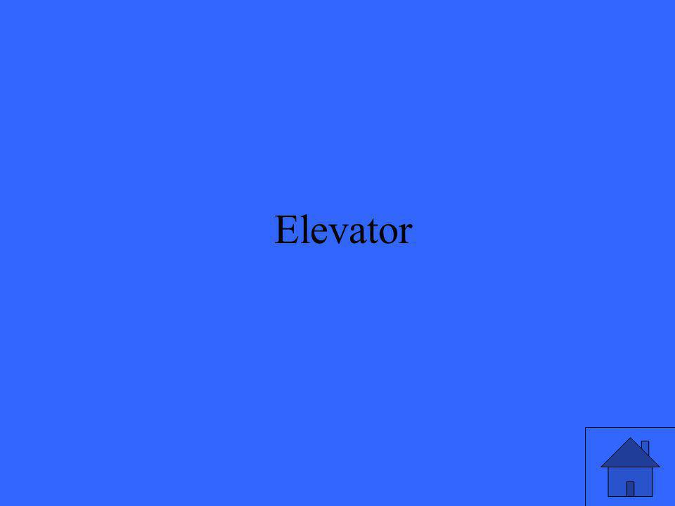 48 Reemplaza la parte subrayada con un antónimo: Vamos a bajar al segundo piso en el ascensor.