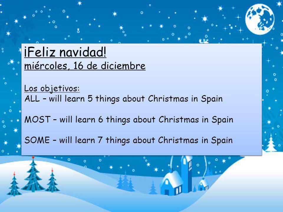 Pregunta 6: ¿Cómo se dice a Christmas carol en español.