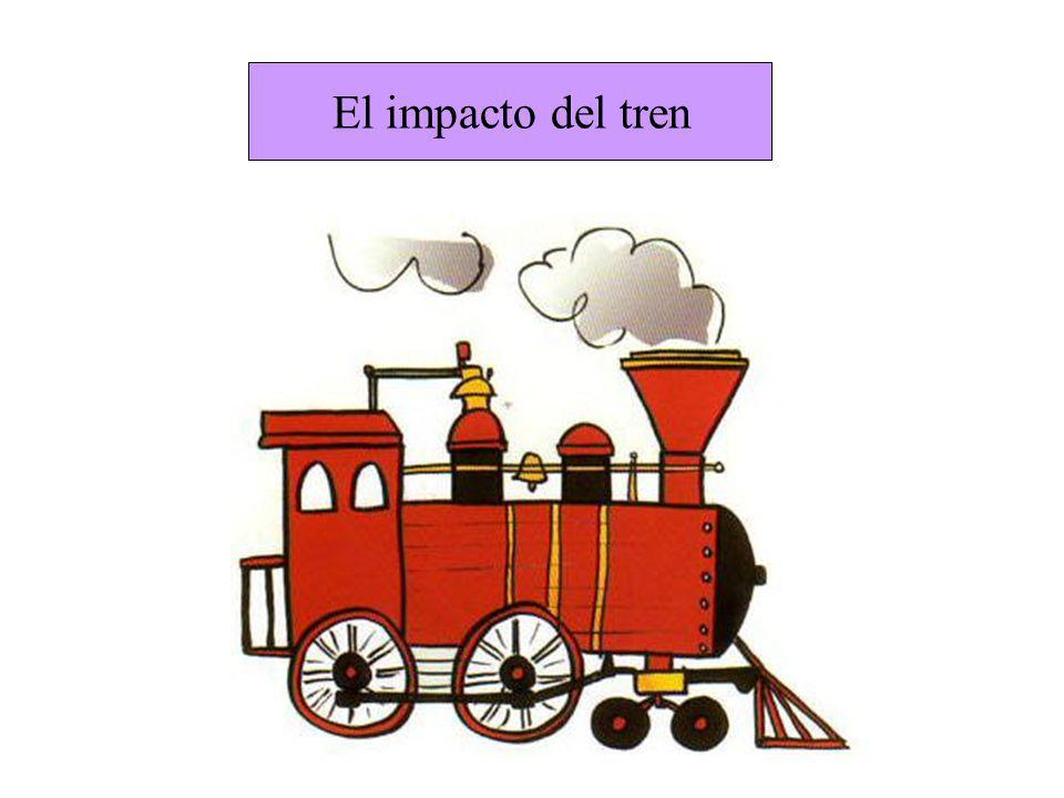 El impacto del tren