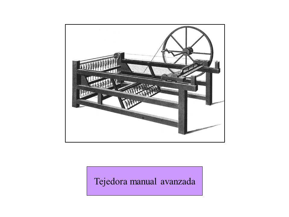 Tejedora manual avanzada