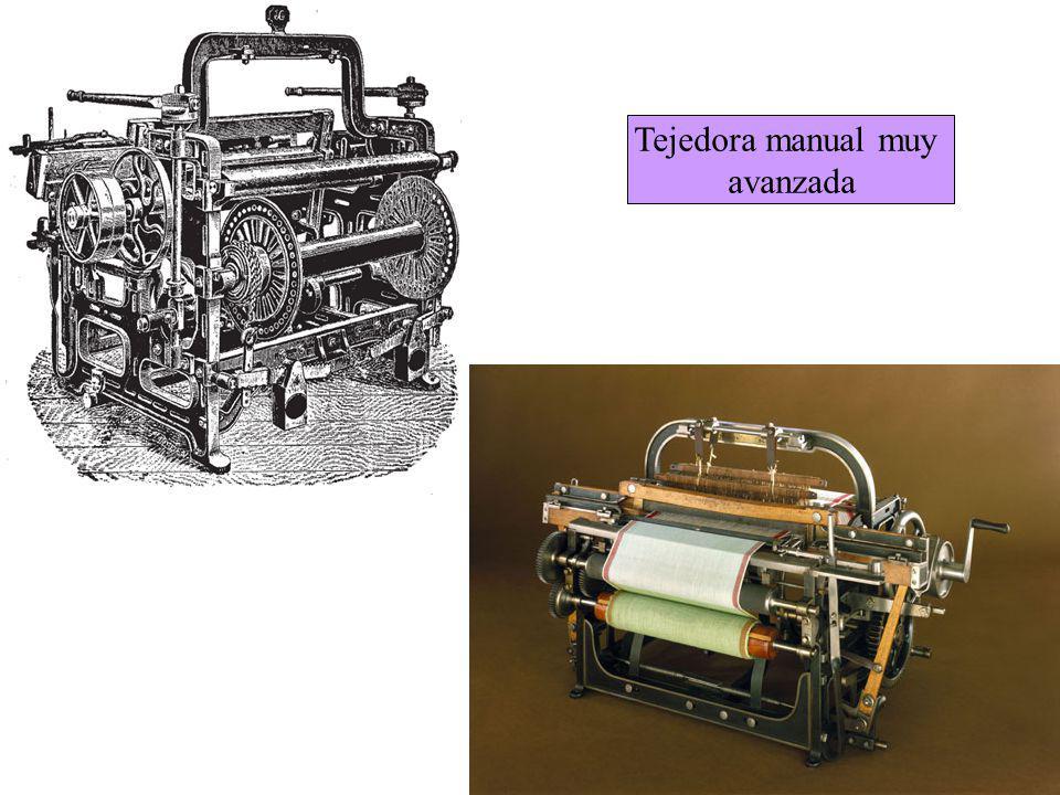 Tejedora manual muy avanzada
