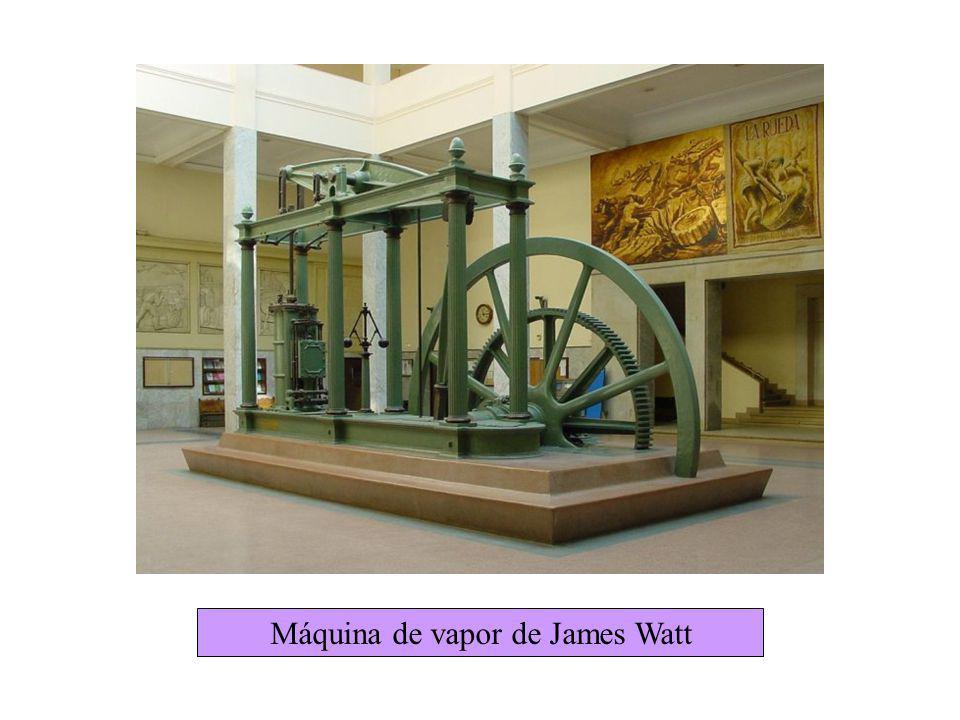 Consecuencias Invención de máquina de vapor = una nueva fuente de energía para la industria.