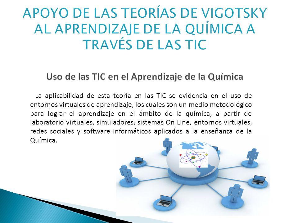 La aplicabilidad de esta teoría en las TIC se evidencia en el uso de entornos virtuales de aprendizaje, los cuales son un medio metodológico para logr