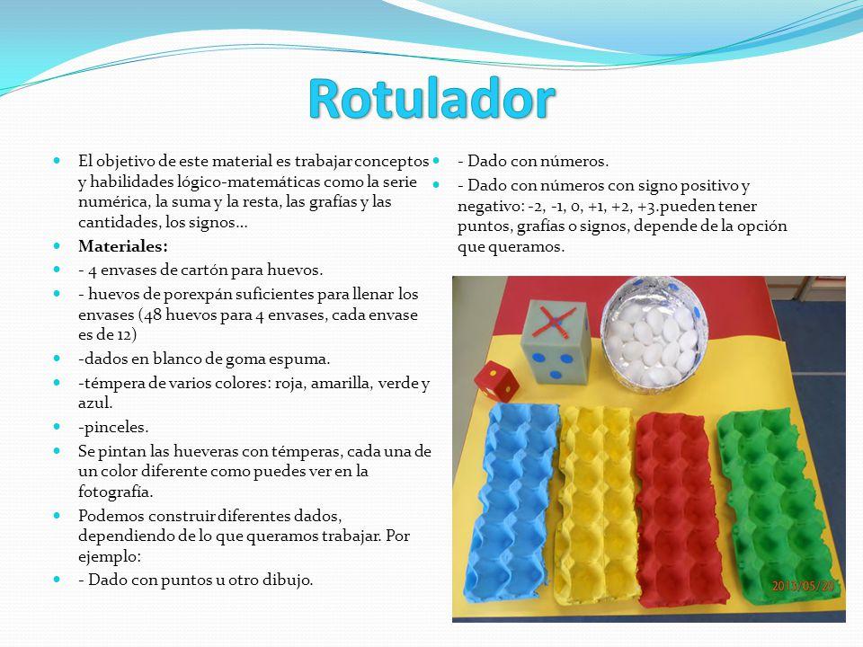 El objetivo de este material es trabajar conceptos y habilidades lógico-matemáticas como la serie numérica, la suma y la resta, las grafías y las cant