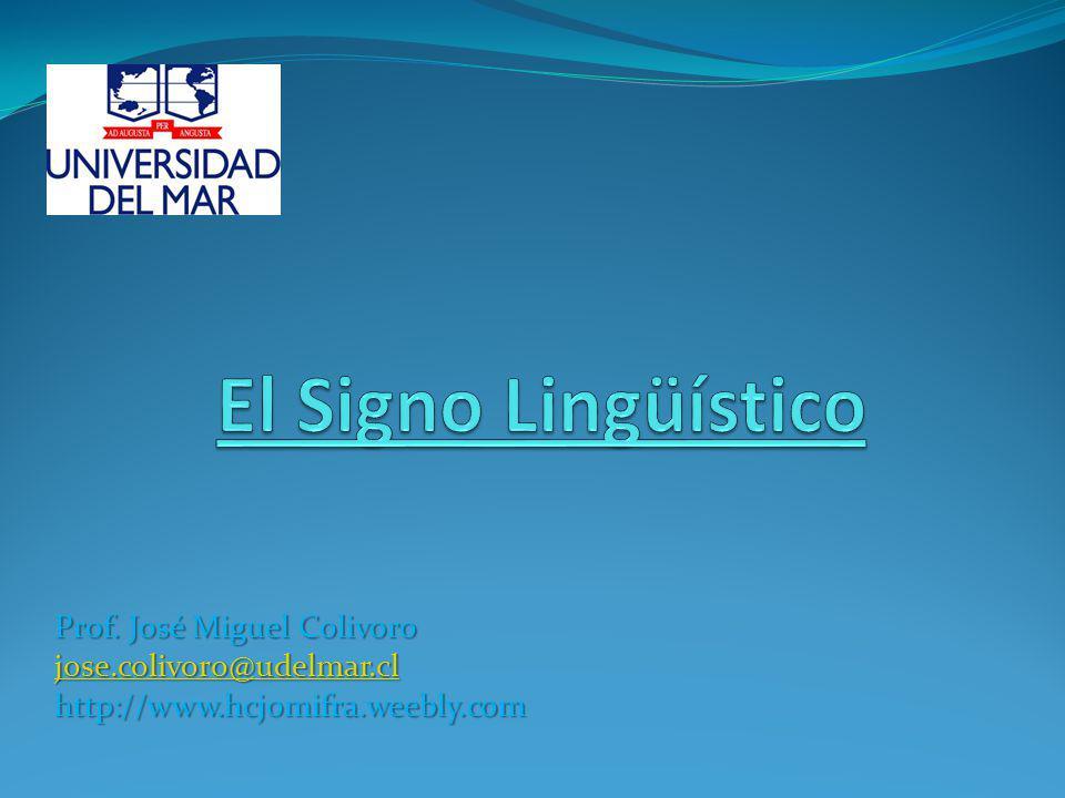 5.- Lineal Cuando el hombre habla emite sonidos (signos) que se suceden unos después de otros.