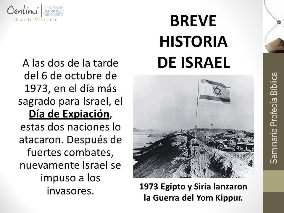 A las dos de la tarde del 6 de octubre de 1973, en el día más sagrado para Israel, el Día de Expiación, estas dos naciones lo atacaron. Después de fue
