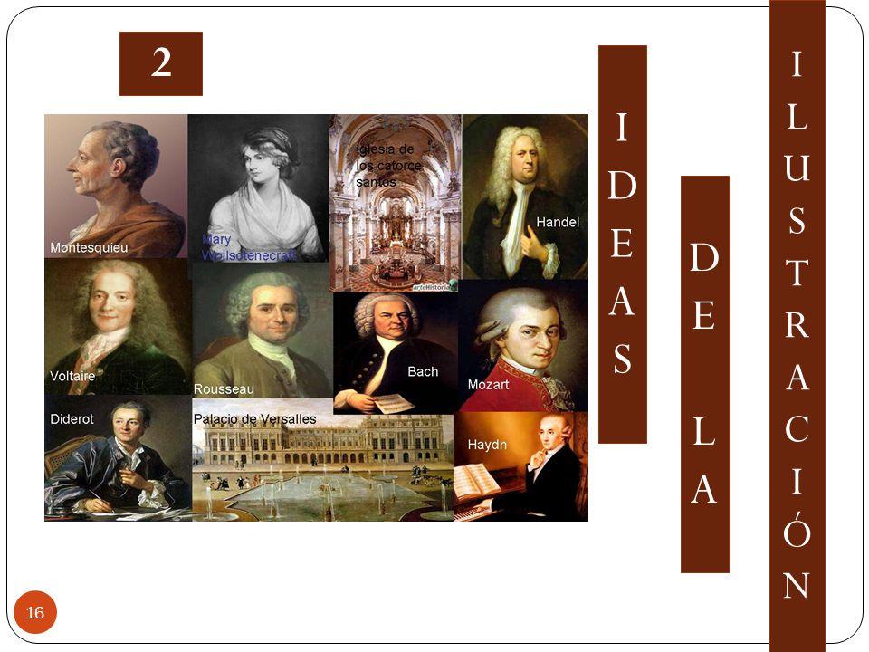 IDEASIDEAS DELADELA ILUSTRACIÓNILUSTRACIÓN 16 2