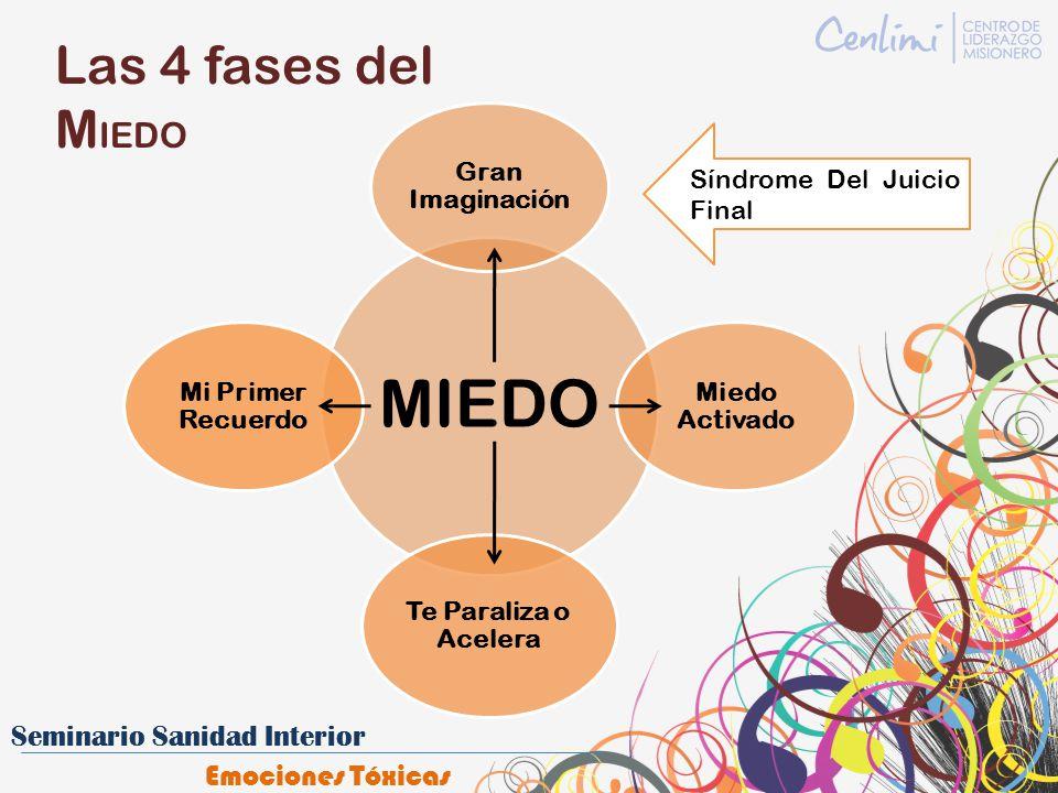 Las 4 fases del M IEDO Gran Imaginación Miedo Activado Te Paraliza o Acelera Mi Primer Recuerdo Síndrome Del Juicio Final