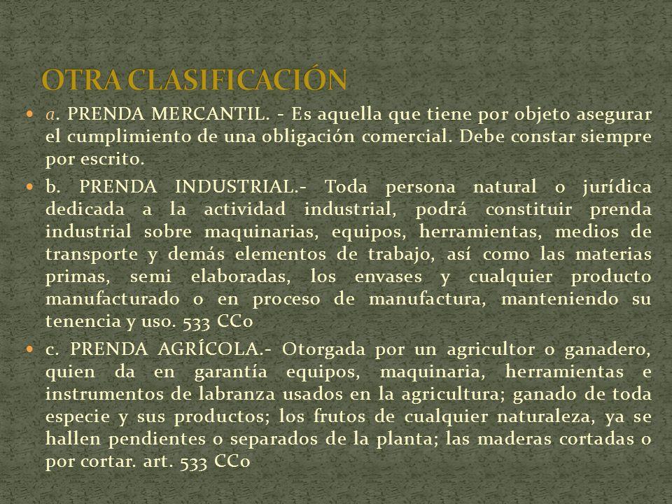 a.PRENDA MERCANTIL.