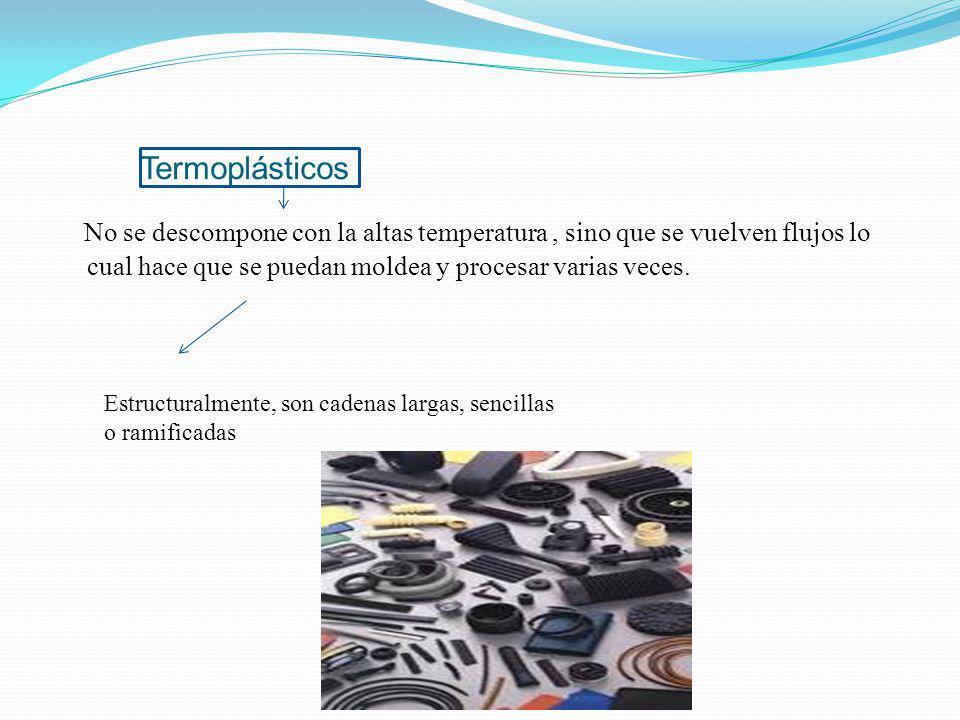 se pueden clasificar de acuerdo con sus propiedades físicas y el uso que se les da Termoplásticos: Termoestables Elastómeros -polietileno - caucho nat