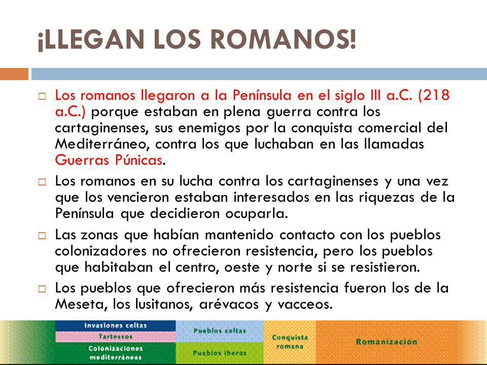 HISPANIA, PROVINCIA ROMANA Para poder controlar mejor la península Ibérica los romanos dividieron Hispania en varias provincias y pusieron al frente de cada una a un gobernador.