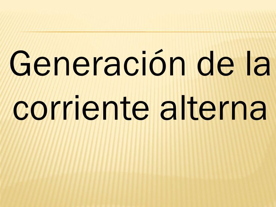 Generación de la corriente alterna