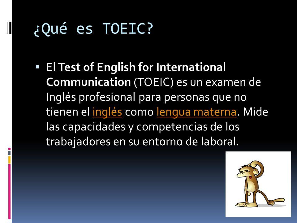 Test of English for International Communication