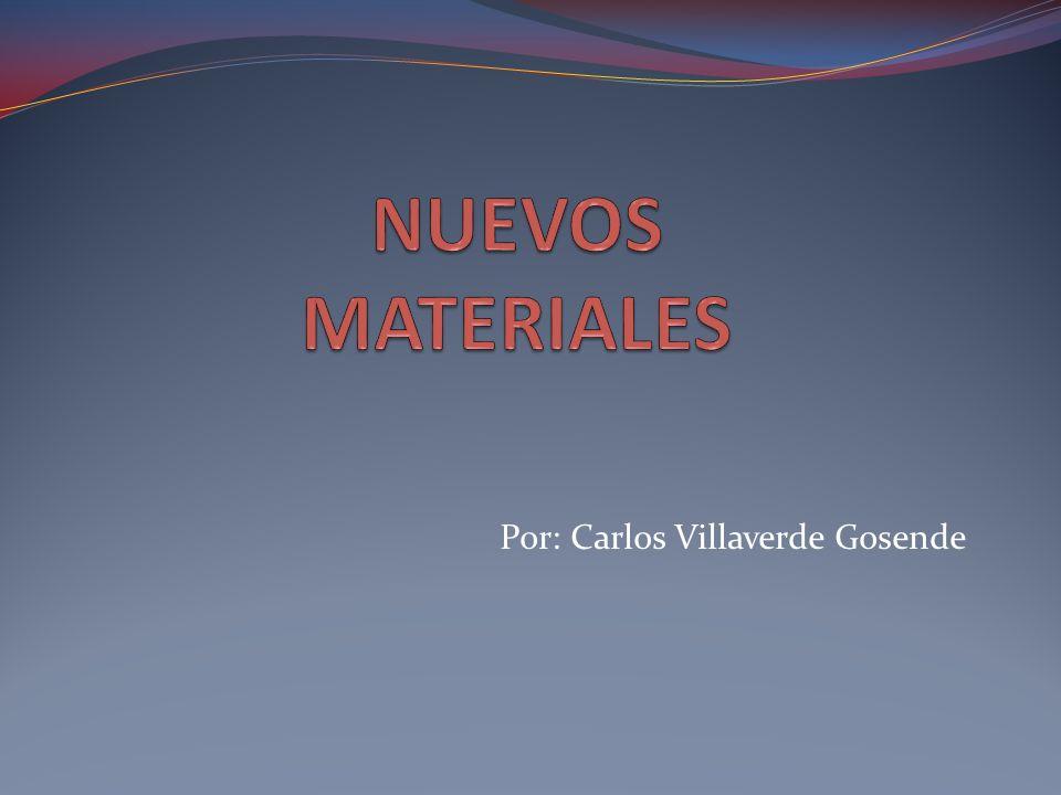 ¿Qué son.Los nuevos materiales son el resultado del desarrollo científico y tecnológico actual.