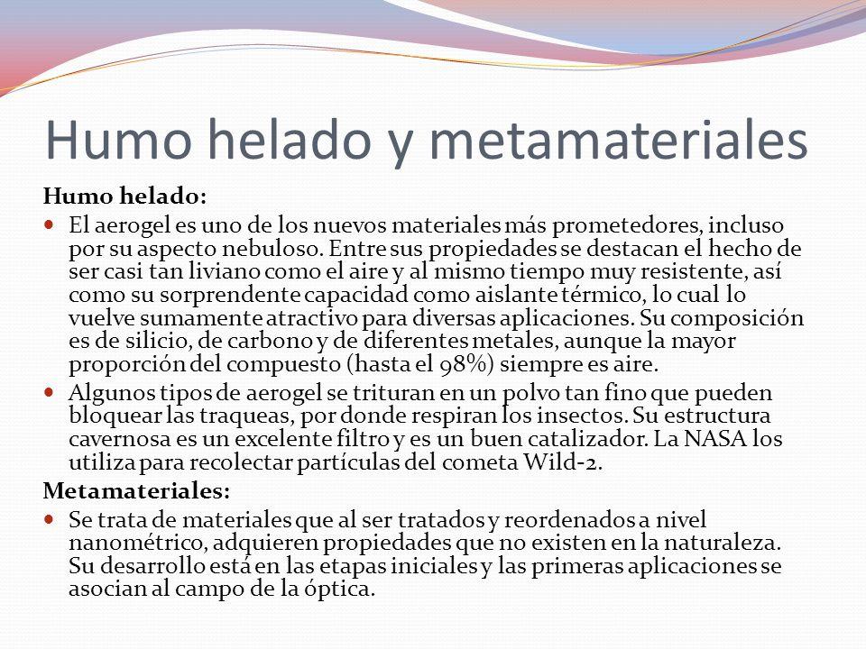 Aerogel y metamateriales