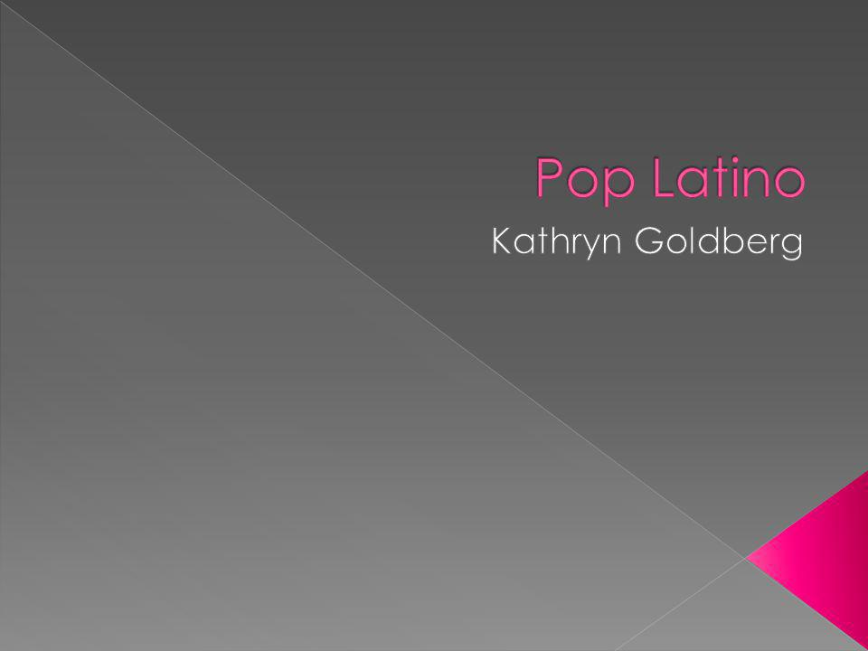 Pop latino estaba el género latino más popular en los EE.UU.