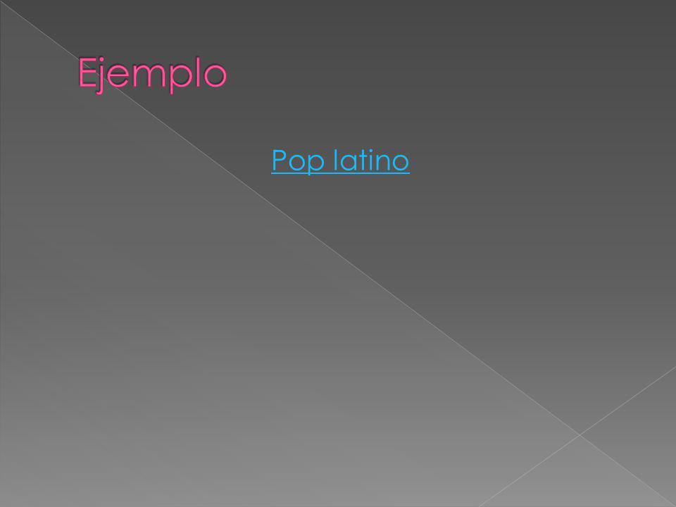 Pop latino