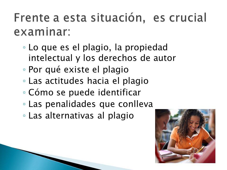 La política de la Universidad de Puerto Rico respecto al plagio se encuentra en el Reglamento General de Estudiantes del 9 de septiembre de 2009, Parte B, Artículo 6.2.