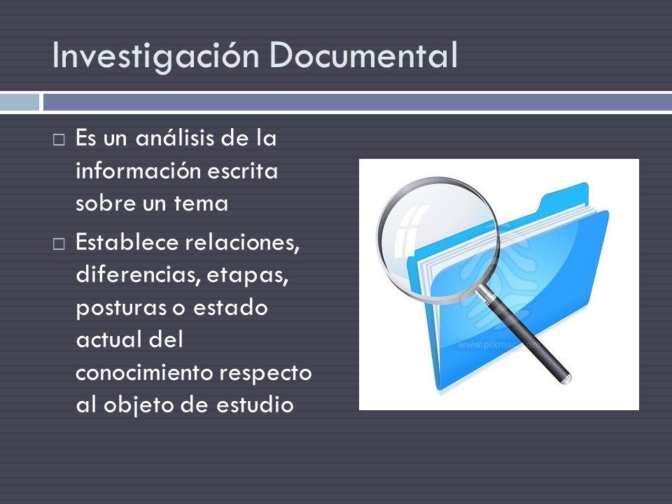 Es un análisis de la información escrita sobre un tema Establece relaciones, diferencias, etapas, posturas o estado actual del conocimiento respecto a