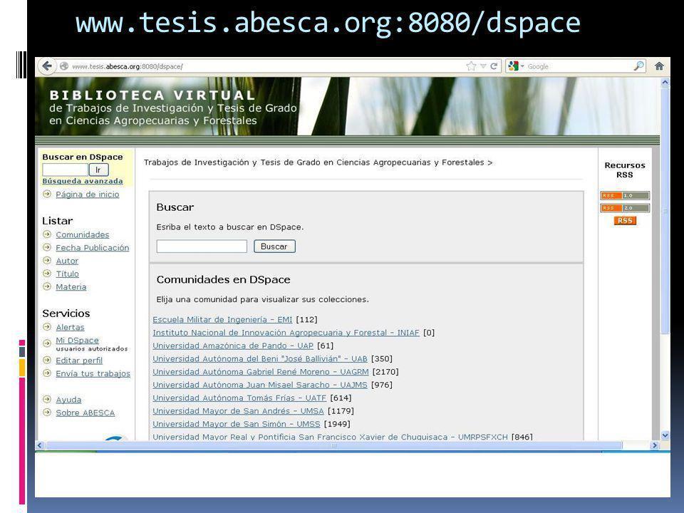 www.tesis.abesca.org:8080/dspace