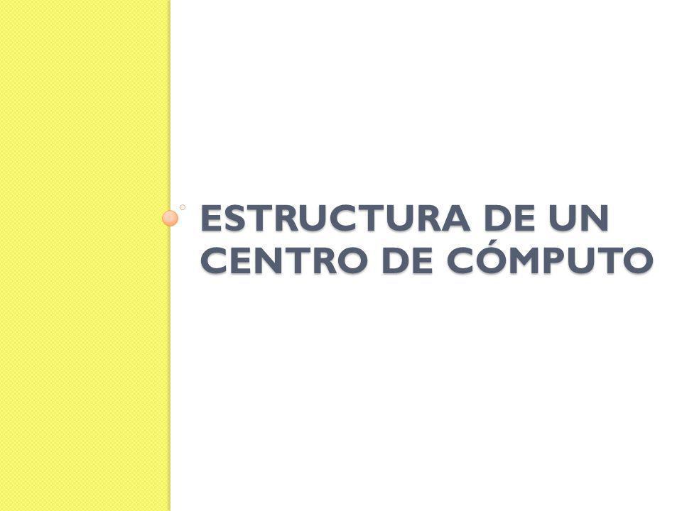 ESTRUCTURA DE UN CENTRO DE CÓMPUTO